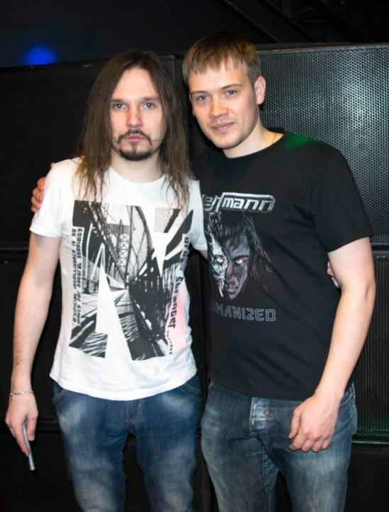 С Ильёй Мамонтовым